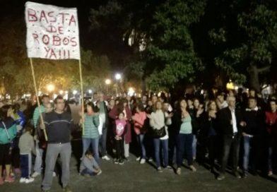 Inseguridad: renunció el jefe policial de Casilda tras una manifestación popular