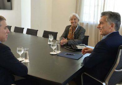 Macri recibió a Lagarde y le recomendó pasear por Jujuy