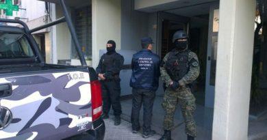 Casi 60 allanamientos en Rosario por diferentes causas