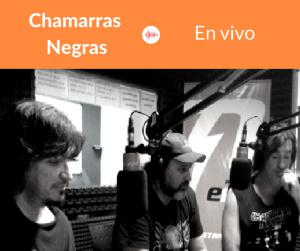 Chamarras Negras acústico en los estudios de Radio EME
