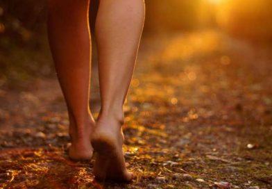 Andar descalzas nos hace bien