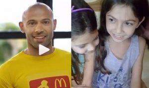 Una nena santafesina saldrá al campo de juego con Messi en Rusia