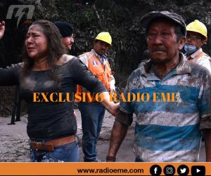 Exclusivo Radio EME. El volcán de Fuego en Guatemala entró en erupción: 33 muertos y desaparecidos