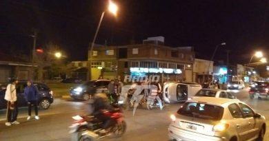 Dos mujeres lesionadas tras un accidente de tránsito en Aristóbulo del Valle