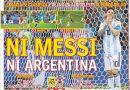 """Siguen las repercusiones tras el """"ridículo"""" de la Argentina de Messi"""