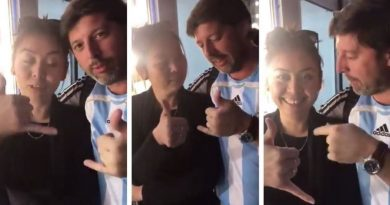 Otro argentino fue escrachado en Rusia por hacerle decir obscenidades a una mujer