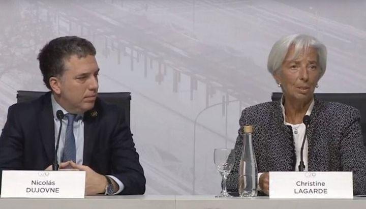 """Christine Lagarde: """"La economía va a mejorar a comienzos de 2019 y la inflación va a bajar"""""""