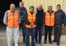 Protección Civil prepara los bolsones de alimentos para inundados