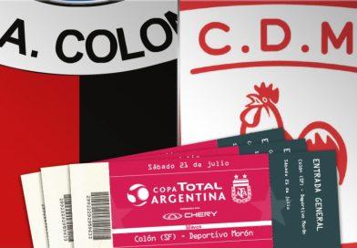 Colón debuta en la Copa Argentina