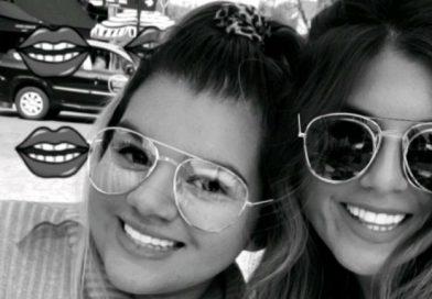 La tierna foto del encuentro entre Morena Rial y Loly Antoniale