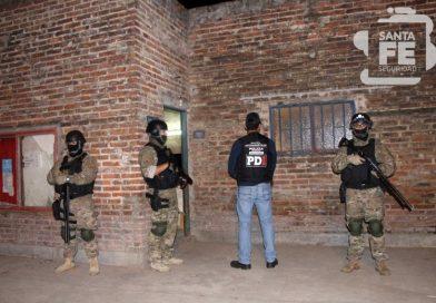 Allanamientos y detenidos en barrio San Lorenzo