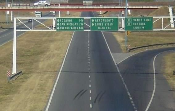Resultado de imagen para Construirán un nuevo acceso en la autopista a Rosario - Santa Fe