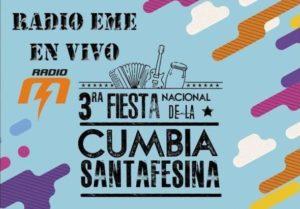 Radio EME en la Fiesta Nacional de la Cumbia Santafesina