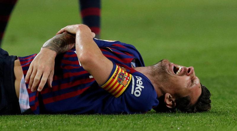 La lesión de Leo Messi que paralizó el mundo