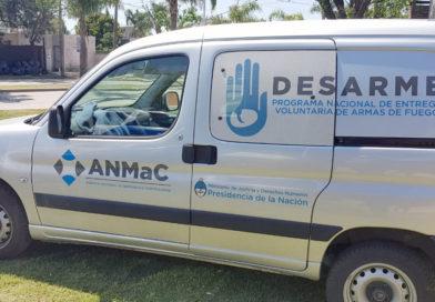 Entrega voluntaria de armas en Santa Fe y Santo Tomé