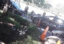 Acorralados por la policía arrojaron en una zanja 13 panes de marihuana y se fugan