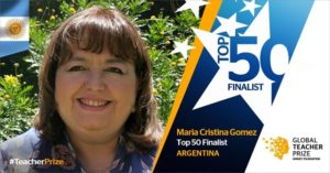 Una rosarina entre los 50 mejores docentes del mundo