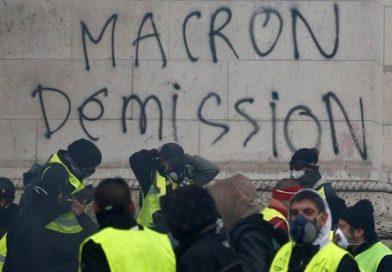 Furia en París por los chalecos amarillos: 500 detenidos