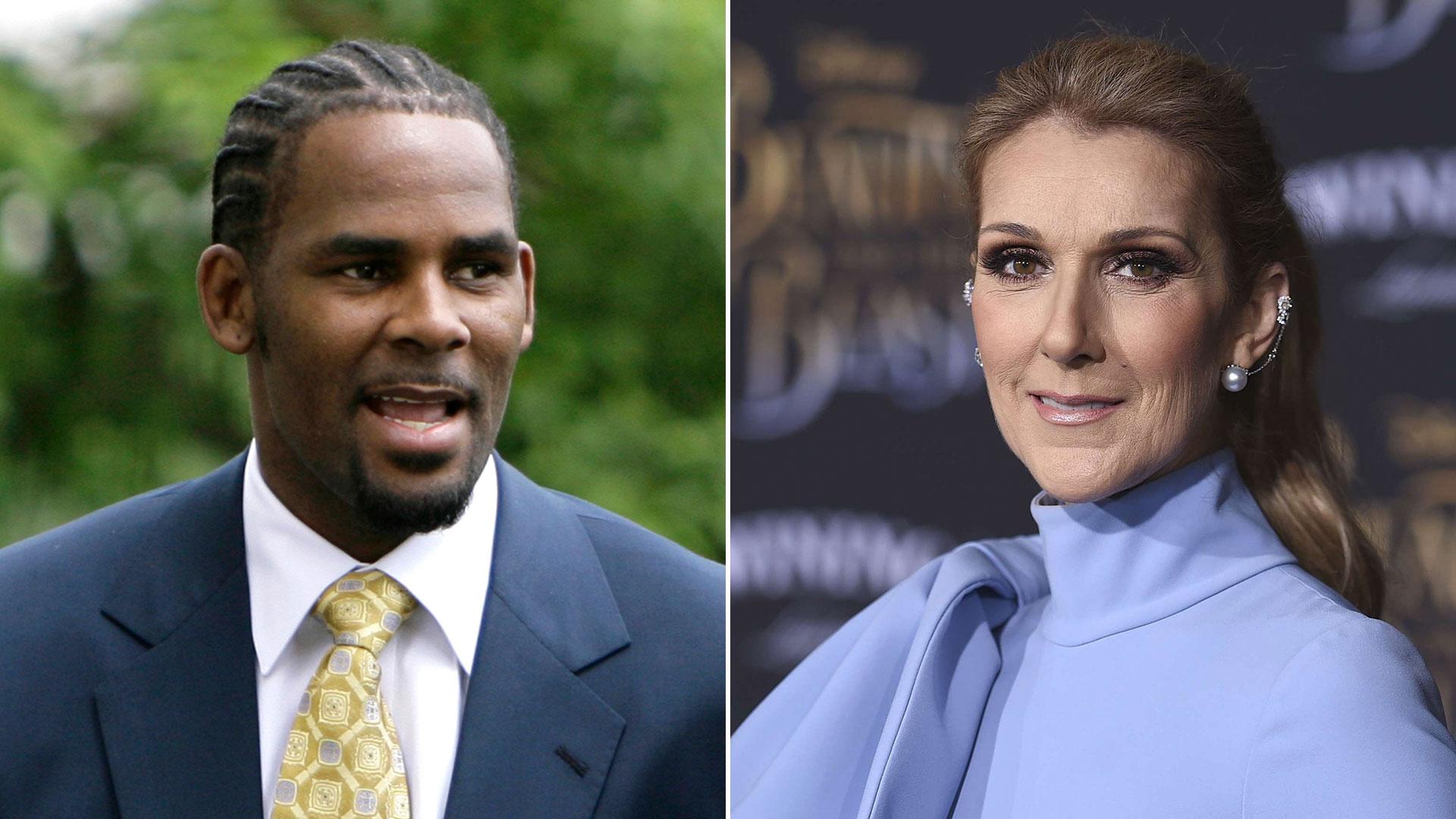 Celine Dion Eliminó Su Canción Con R Kelly De Las