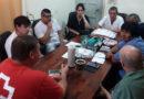 Agentes sanitarios locales y miembros de la Cruz Roja comienzan relevamiento sanitario en Villa Minetti