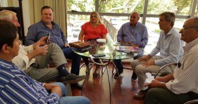 El titular de la DPV recibió una comitiva del departamento San Cristóbal