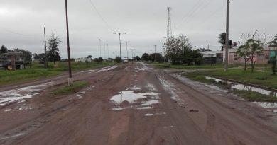 La situación en Villa Minetti a partir de las últimas lluvias