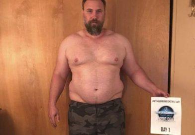 Mirá como quedo tras perder 92 kilos en cuatro meses.