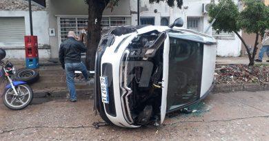 Fuerte accidente en Barrio Candioti Norte