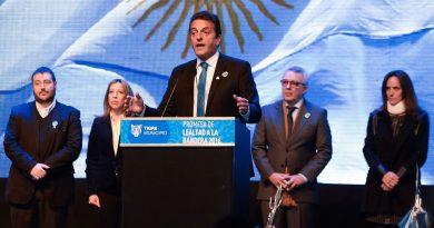 Sergio Massa será el primer candidato a diputado nacional del Frente de Todos