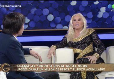 Susana recibió al nieto de Carlos Monzón, quien le realizó un jugoso cuestionario