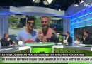 Video: Pagani se quedó en cuero y se comparó con De Rossi
