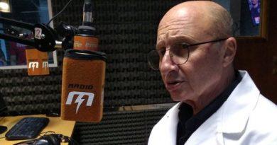 El Dr. Cristóbal Allignani visitó los estudios de Radio EME