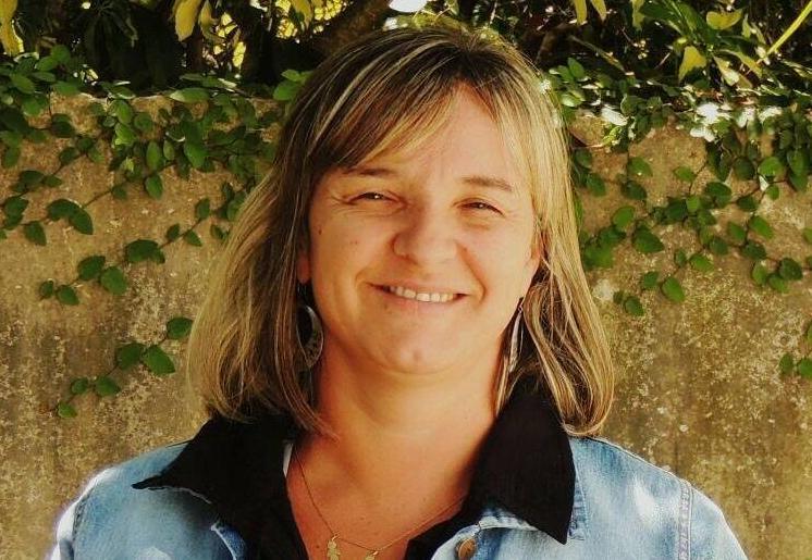 Natalia Galeano, presidenta comunal de Santa Rosa de Calchines